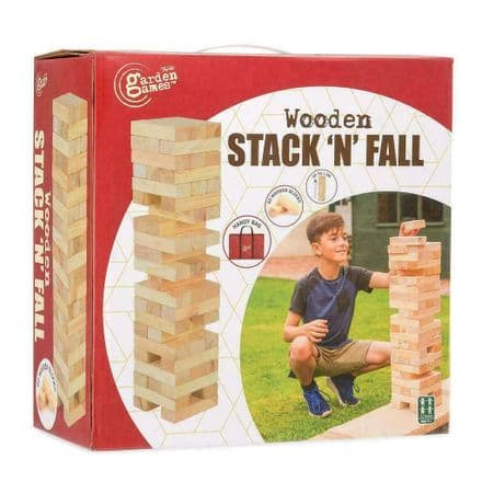 Garden Games Giant Stack N Fall Tumble Tower